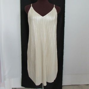 One Clothing LA cream cocktail dress
